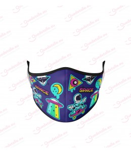 Mascarilla Infantil Space