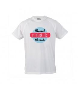 """Camiseta """"El Mejor Tío del..."""